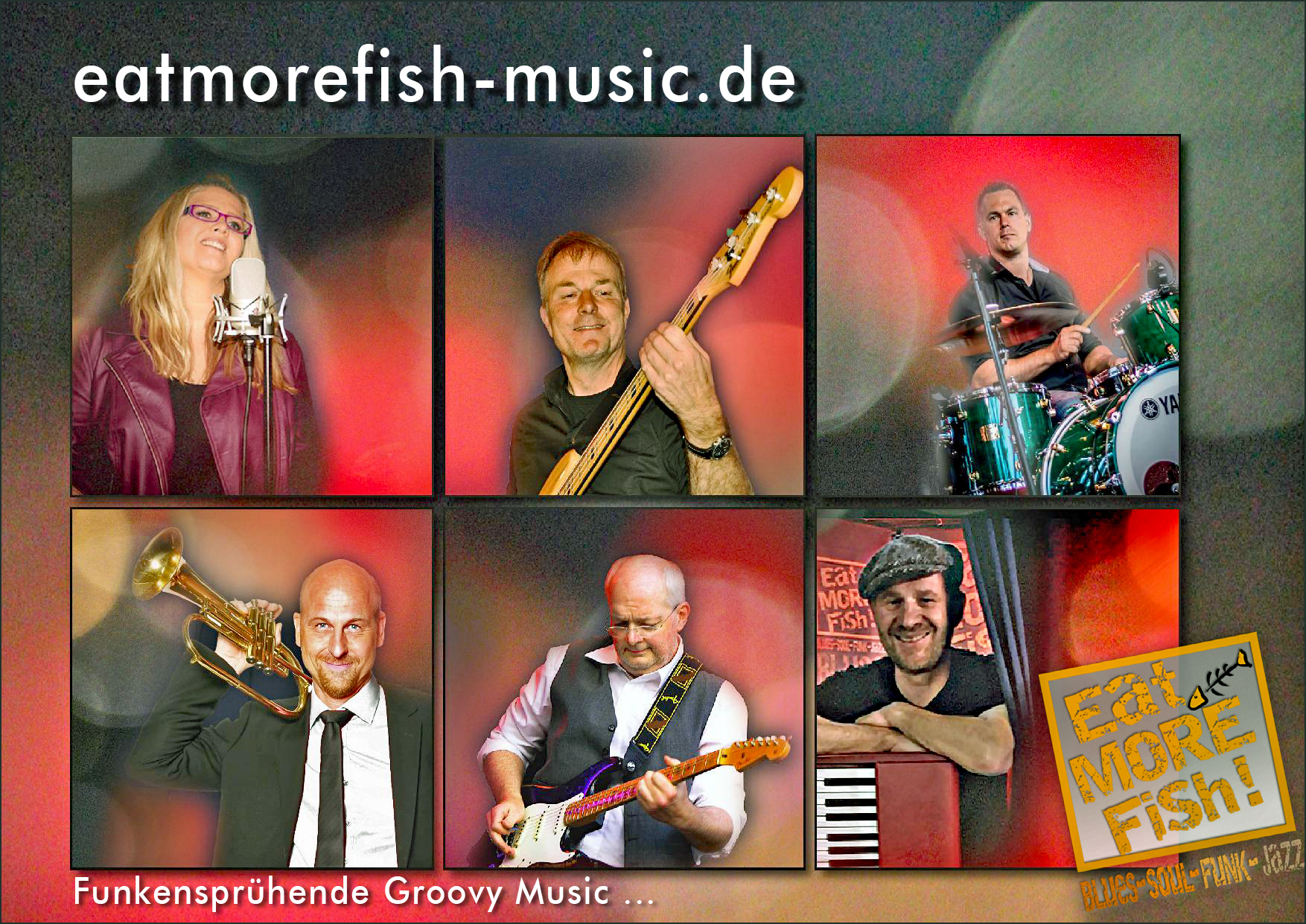 Funkensprühende Groovy Music mit Eat MORE FISH
